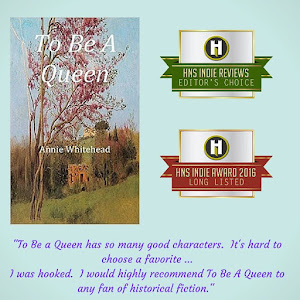 To Be a Queen has been long listed for Indie Book of the year 2016!