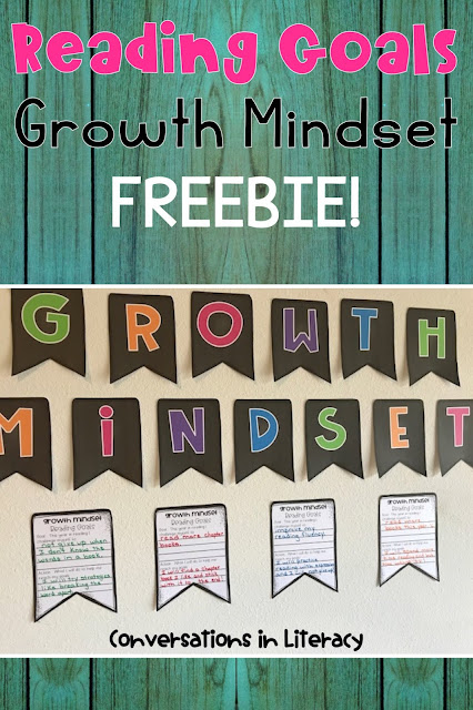 reading goals, growth mindset, anchor charts, the book wolf