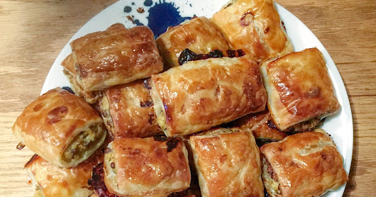 Native Pepper, Chicken and Veg Sausage Rolls