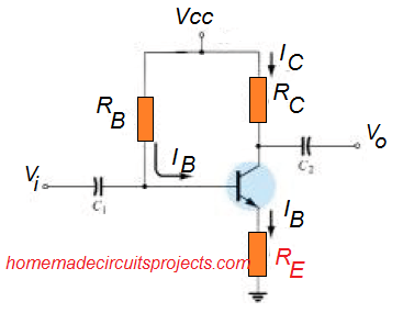 BJT Bias Circuit with Emitter Resistor