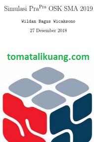 latihan soal osk matematika sma 2019; soal pra osk matematika sma 2019; tomatalikuang.com