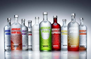 vodka absolut vodca produçao