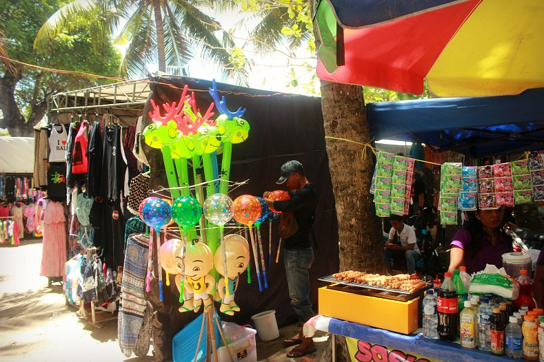 Local market, Kuta Beach, Bali, Indonesia