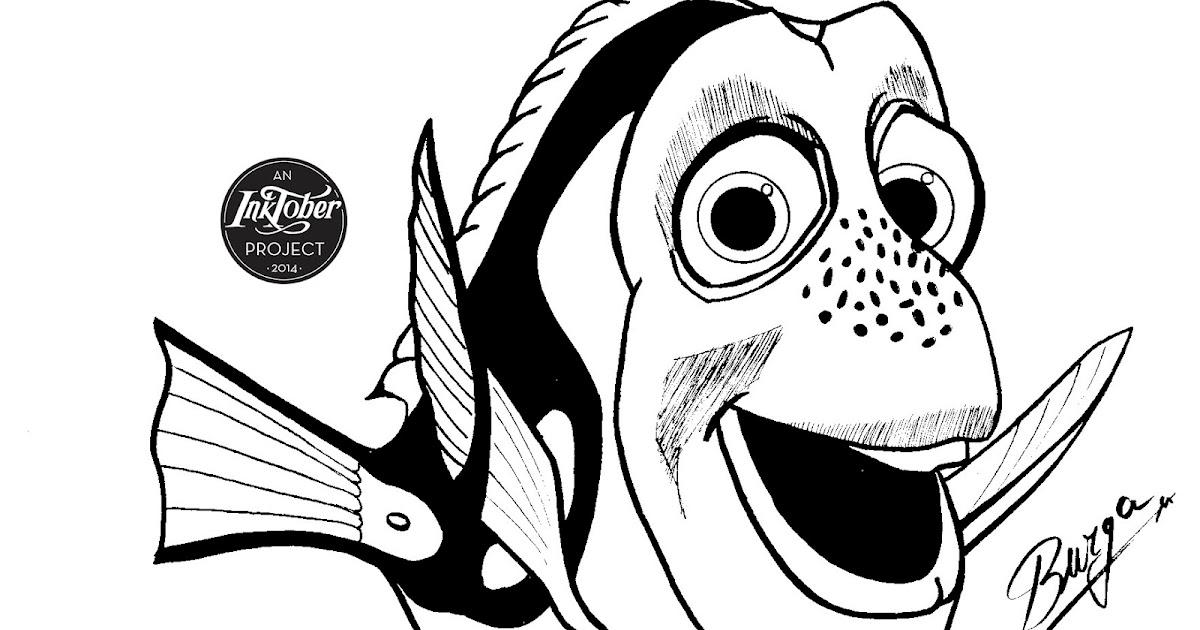 """Buscando A Dory Para Colorear E Imprimir: Dibu-evolution: Dory De """"Buscando A Nemo"""""""