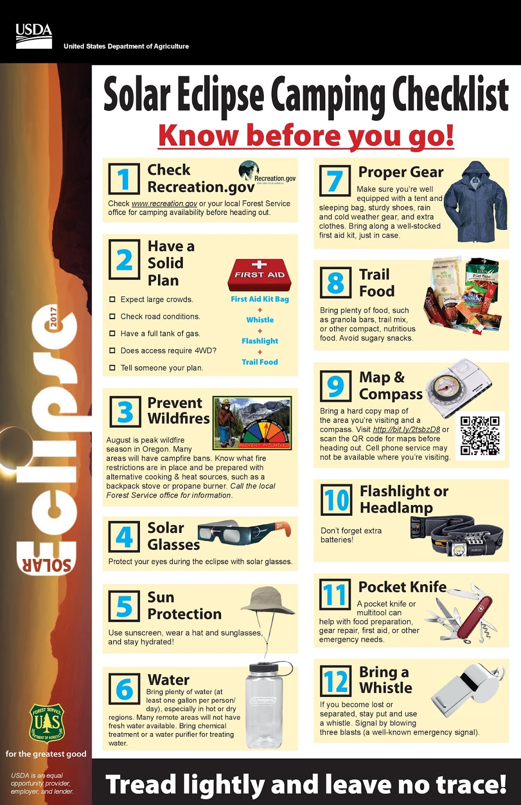 eclipse camping know before you go