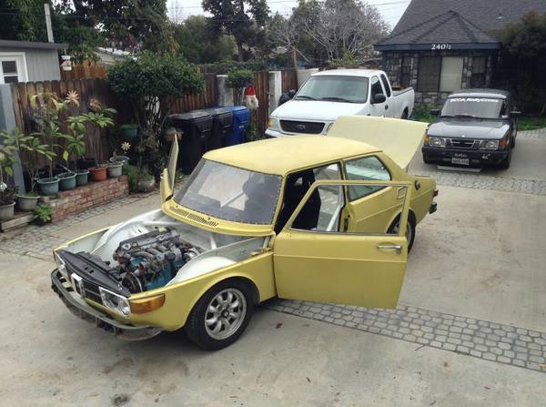 Daily Turismo Epic Project 1973 Saab 99 Rally Build