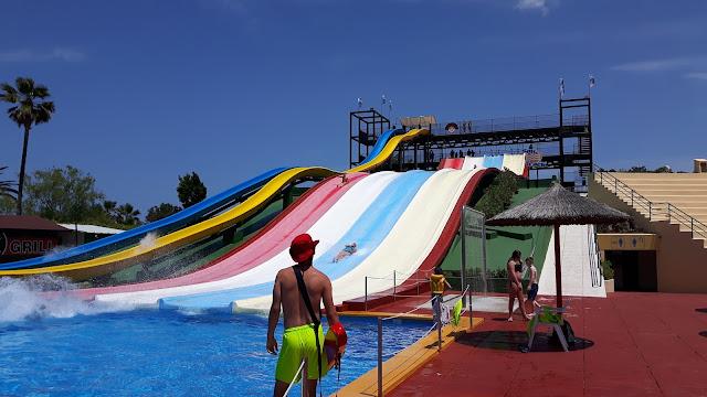 Wasserrutschenparadies Hidropark Alcudia