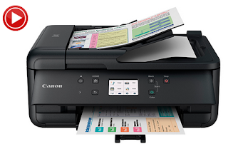 Canon PIXMA TR7550 Support driver software
