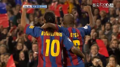 El Classico: Barcelona 3 vs 0 Real Madrid 20-11-2004