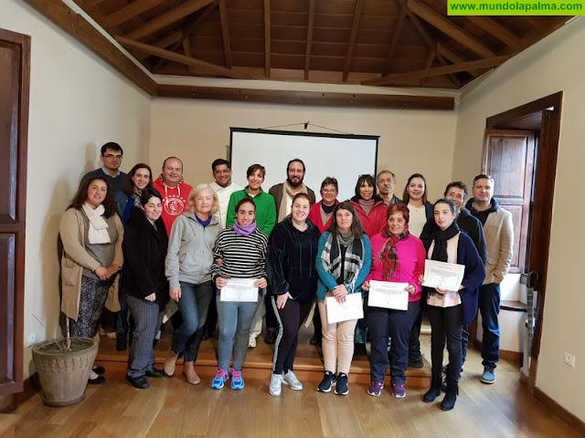 El curso de repostería profesional impartido en Tijarafe llega a su fin