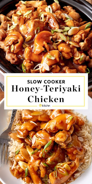 Slow Cooker Honey Teriyaki Chicken