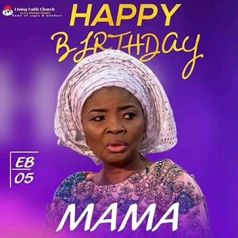 Happy Birthday Mummy Faith Oyedepo