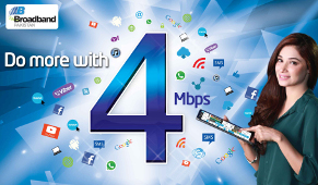 PTCL Four 4 MBps Unlimited Offer Packages
