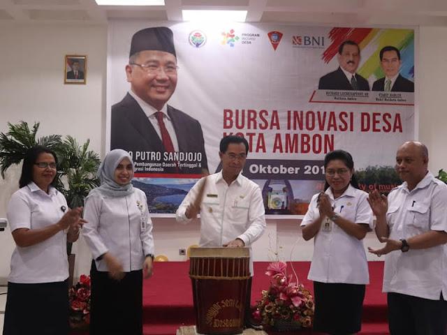 Syarif Hadler Buka Bursa Inovasi Desa di Kota Ambon