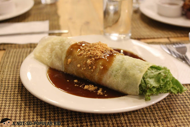 Tia Olympia Fresh Lumpia of Cafe by the Ruins
