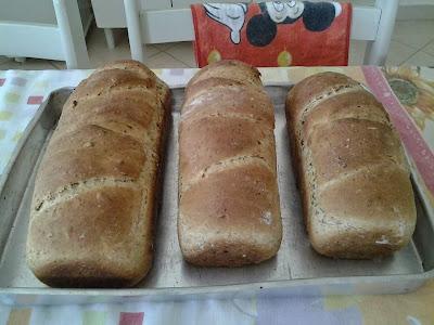 Receita de Pão de Sete Grãos da Dona Anizia