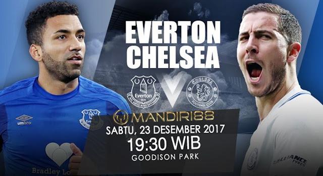 Prediksi Bola : Everton Vs Chelsea , Sabtu 23 Desember 2017 Pukul 19.30 WIB