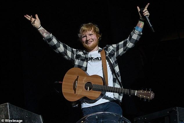 Ed Sheeran breaks musician earnings record