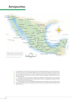 Apoyo Primaria Atlas de México 4to Grado Bloque III Lección 3 Aeropuertos