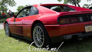 Ferrari 348 TS Rear Angle