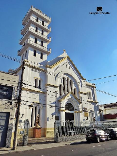 Vista ampla da Paróquia São Januário - San Gennaro - Mooca - São Paulo