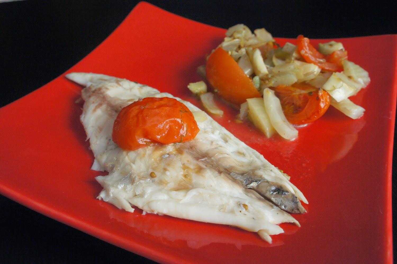 Daurade anis e fenouil et tomates - Comment couper un fenouil ...