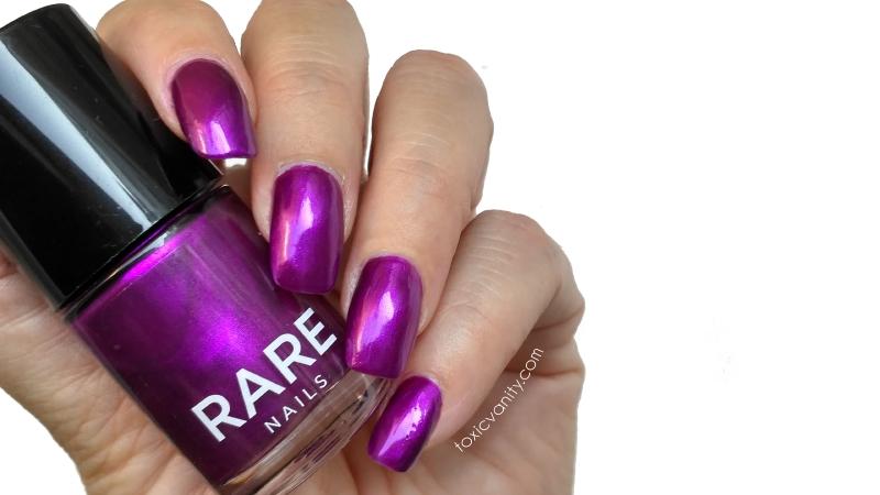Thief de Rare Nails o como un esmalte morado puede robarte el ...