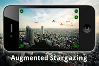 Augmented Reality Stargazing app
