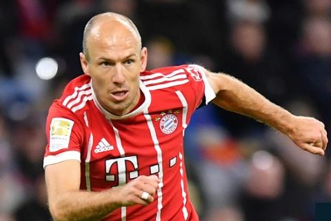Robben trong màu áo của Beyern
