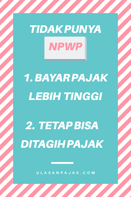 Tidak punya NPWP
