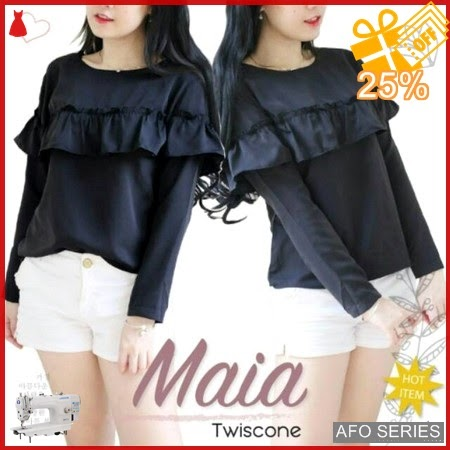 AFO536 Model Fashion Blouse Maia Modis Murah BMGShop