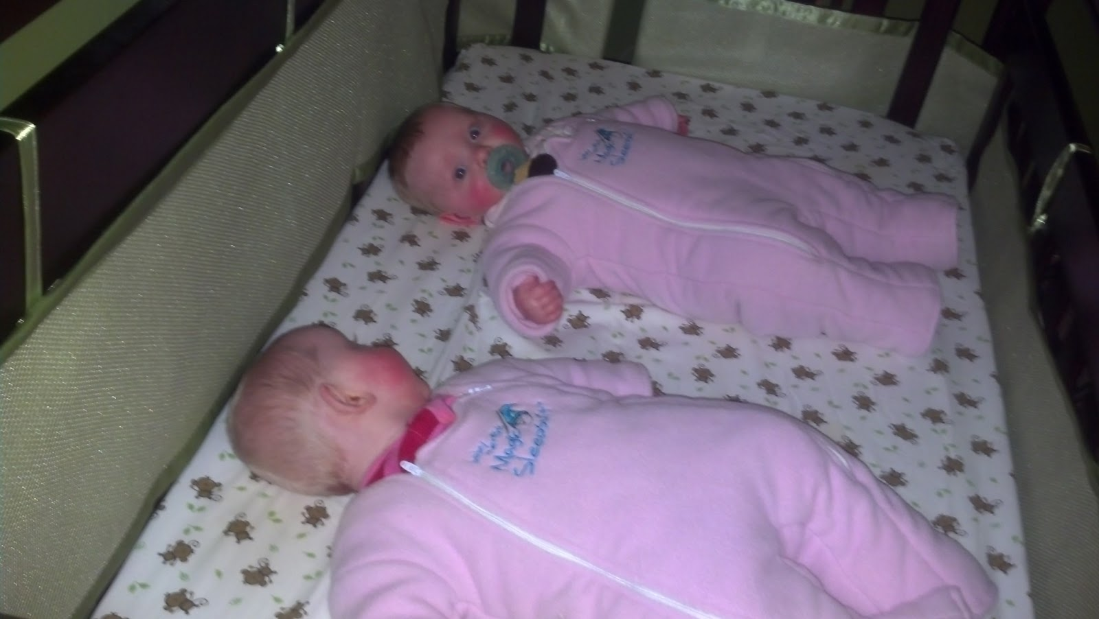 First Time Twins Magic Sleep Suits
