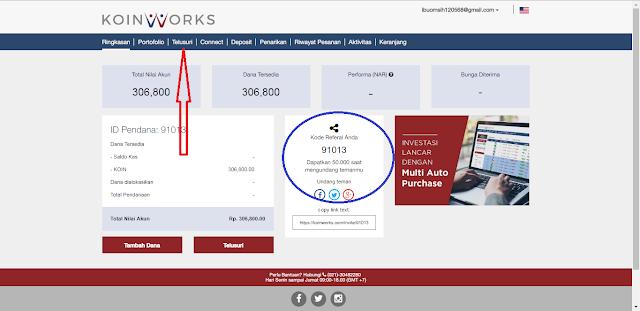 Cara Investasi Gratis Tanpa Modal dari Situs KoinWorks Terbaru Agustus 2017