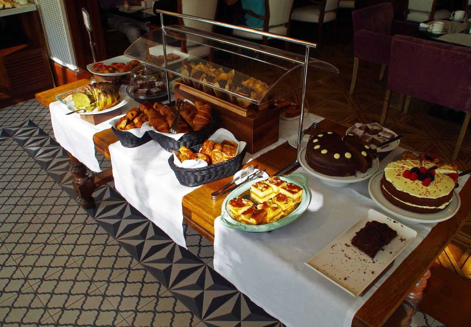 Sweets at breakfast at Cotton House Hotel Barcelona