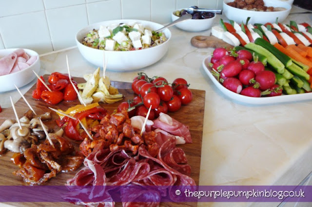 Eurovision Song Contest Party - Antipasti