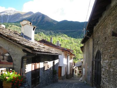 Usseaux , Val Chisone, Piemonte, Torino, Italia