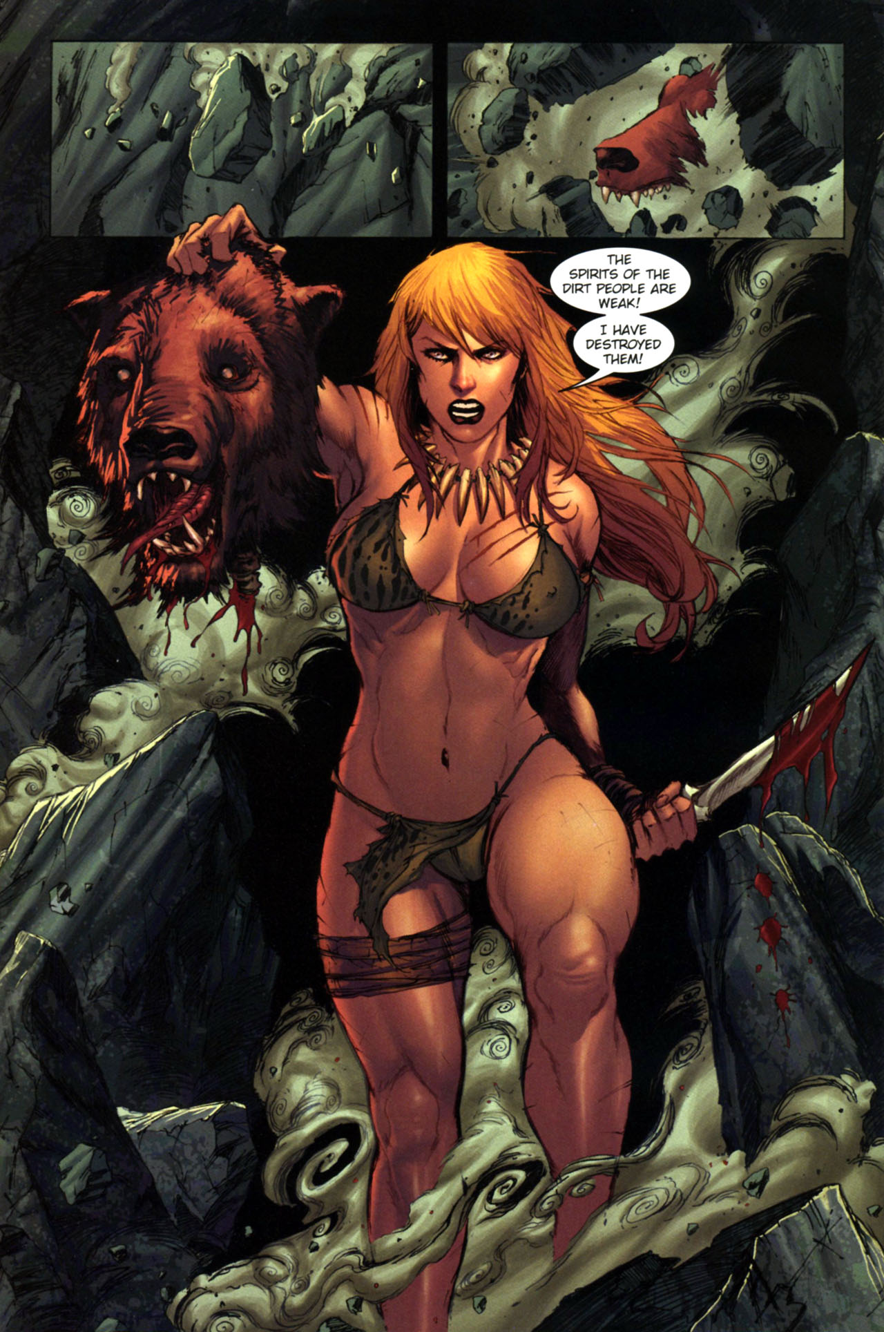 Read online Jungle Girl comic -  Issue #4 - 9