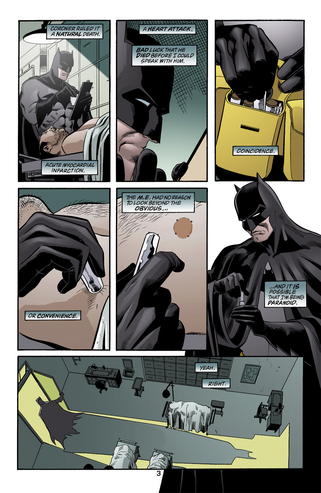 Detective Comics (1937) 771 Page 3