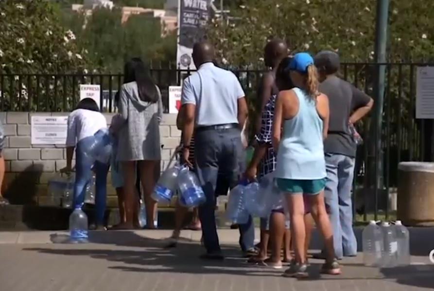 Water crisis looms in South Africa Naamloos