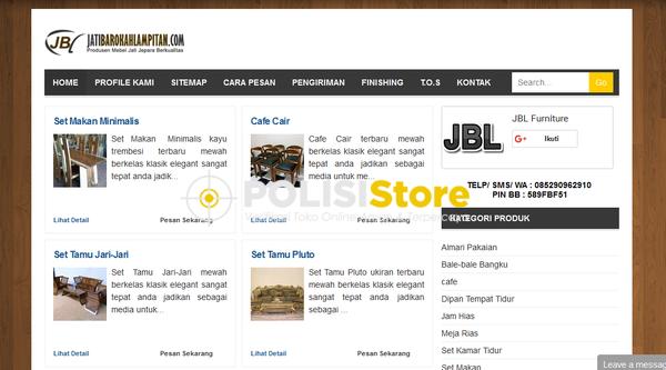 Jati Barokah Lampitan - Verifikasi Toko Online Aman dan Terpercaya - Polisi Store