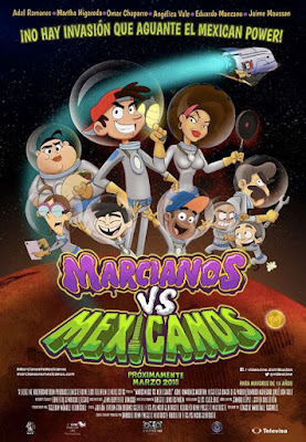 Marcianos Vs Mexicanos 2018 Custom HDTS Latino Cam