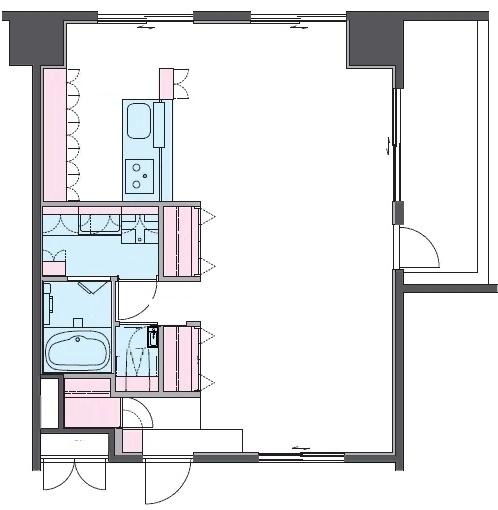 Квартира в японском доме после перепланировки и утепления