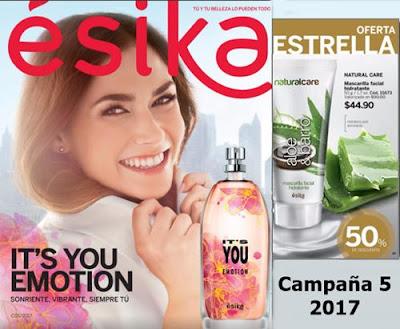 catalogo cosmeticos esika campaña 5 2017