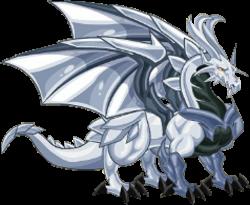 imagen del dragon platino adulto