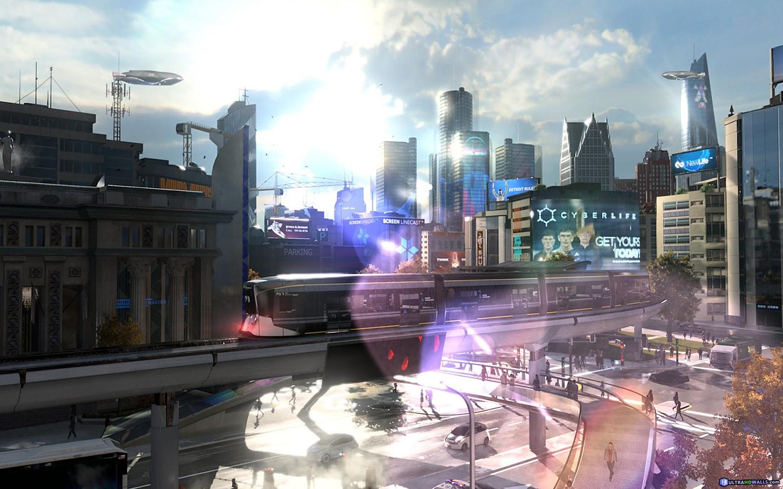 Detroit Become Human Desktop Wallpaper: Detroit: Become Human Game HD Backgrounds