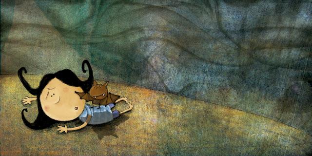 """""""ilustración-morticia 3-ana sáez del arco-illustration-morticia 3"""""""
