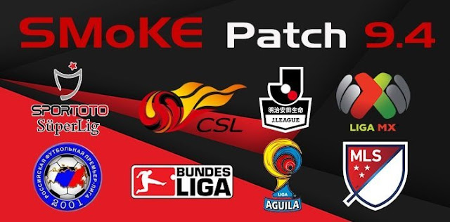 Patch PES 2017 Terbaru dari SMOKE Patch 9.4 AIO