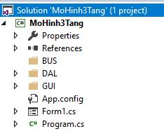 tinhoccoban.net - Cấu trúc Project mô hình 3 tầng