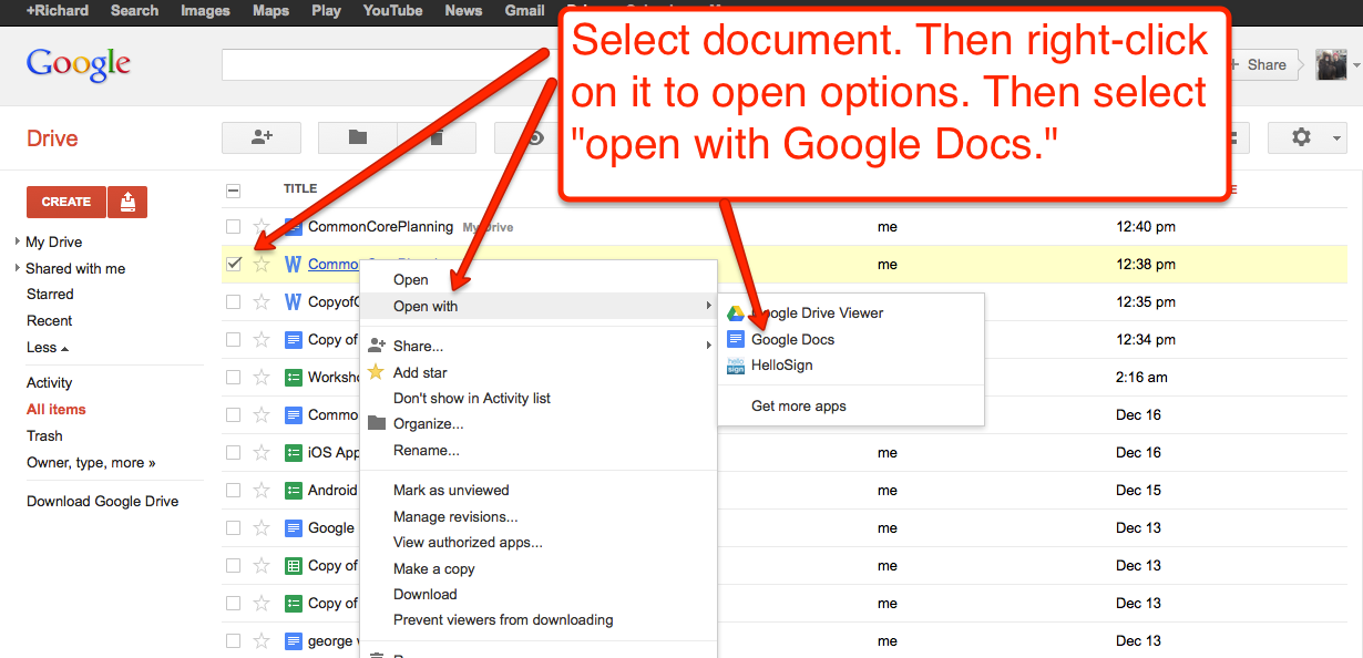 how to change google docs automatic word change settings