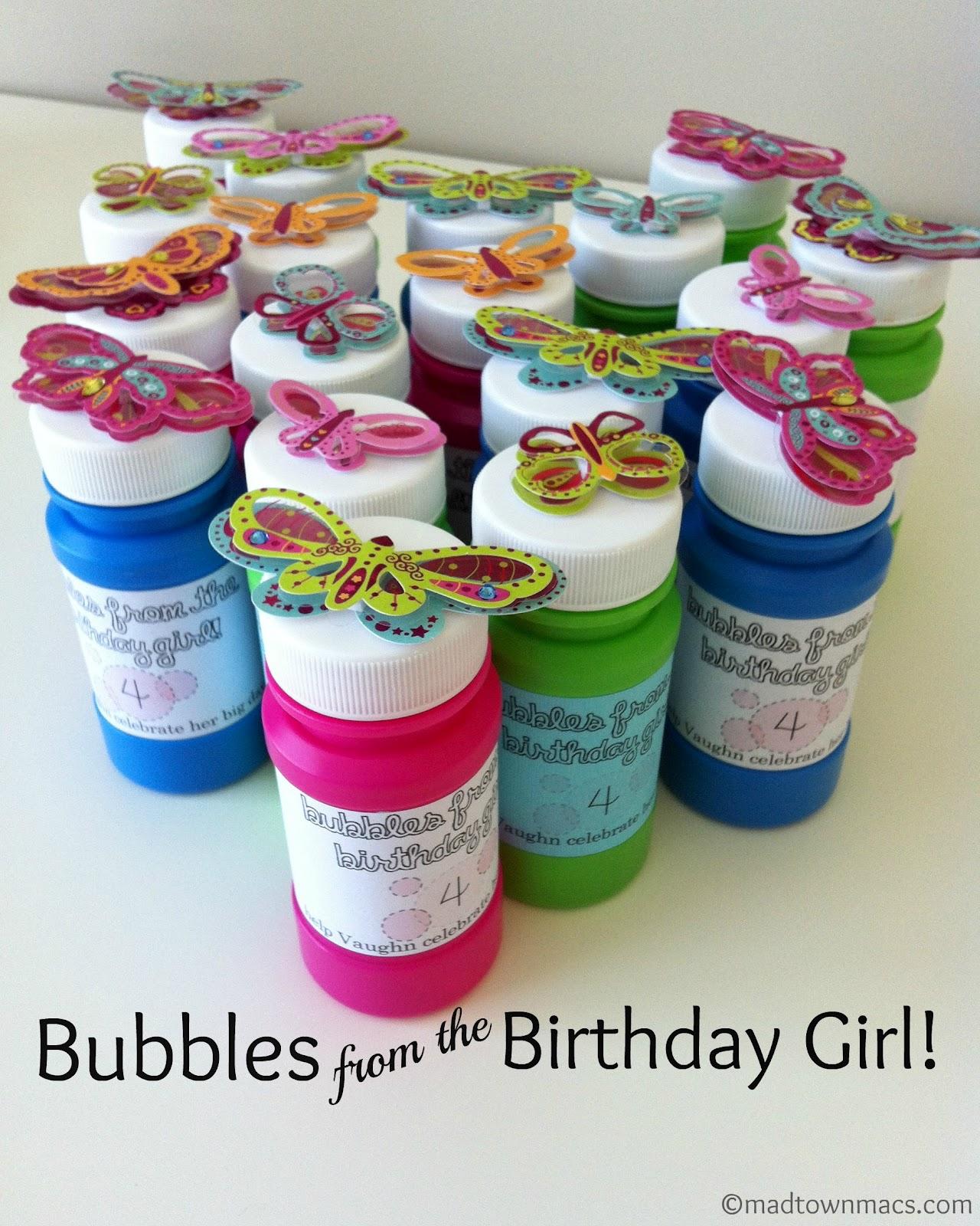 Birthday Bubbles!